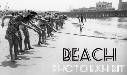Beach Photo Exhibit at Main Library