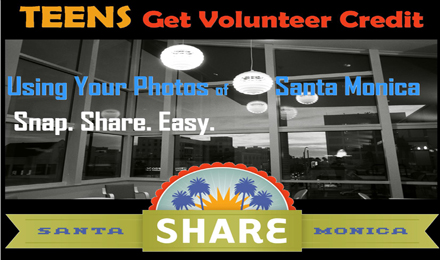 Teen Volunteer Credit with Share Santa Monica